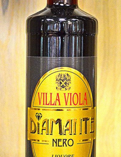 VILLA VIOLA Diamante Nero Liquore Sambuca & Liquiriza