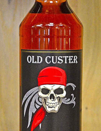 OLD CUSTER Spiced Spirit with Rum